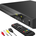 Blu Ray DVD Player, GEOYEAO 1080P Home Theater Disc System, Play All DVDs and Region A 1 Blu-rays, Support Max 128G USB Flash Drive + HDMI / AV / Coaxial Output + Built-in PAL/NTSC with HDMI /AV Cable